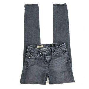 Ag Harper Gray Jeans Slim Straight Dark Wash Sze24